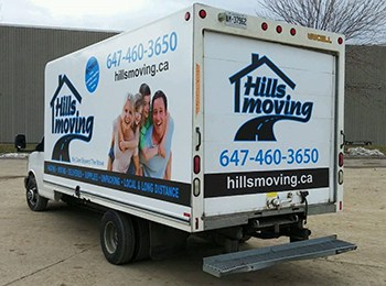 Hills Moving Truck