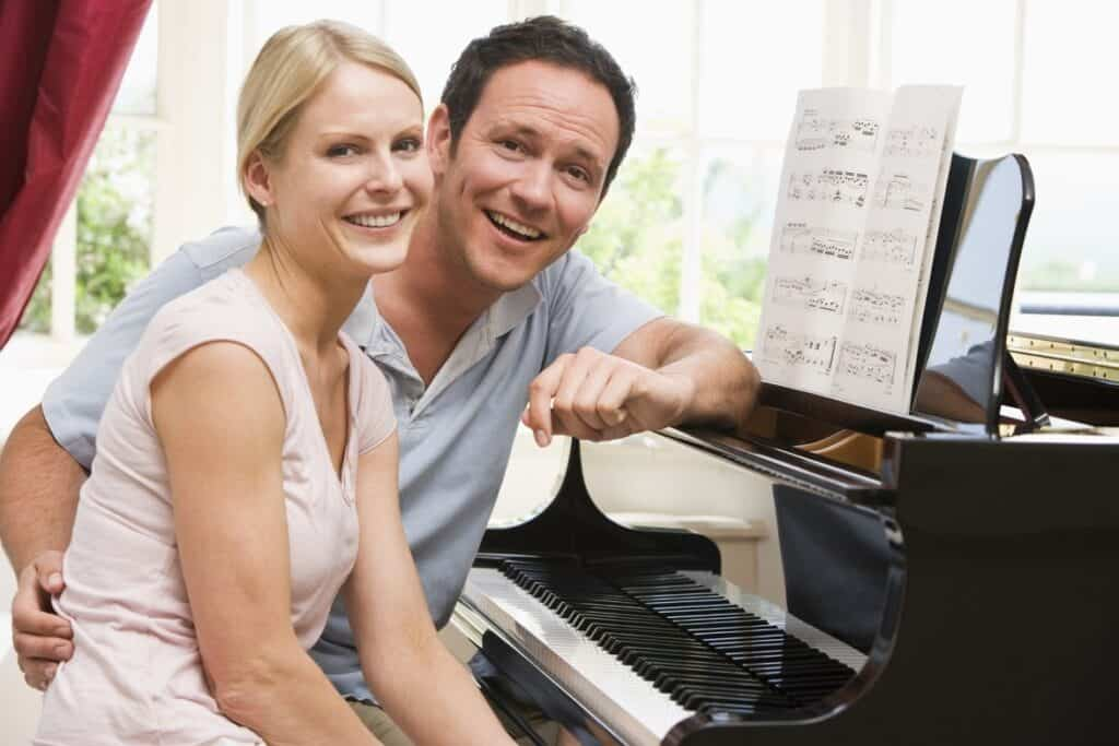 Couple and a Piano